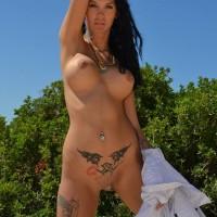 Maria-Alexandrou-Naked-Crete-Beach-Kanoni-7